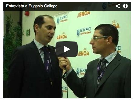 Entrevista Eugenio Gallego en Congreso de Aenoa Sevilla2013